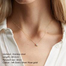Colar de gargantilha em camadas personalizado colar de gargantilha de aço inoxidável pingente inicial personalizado carta de nome(China)
