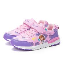 ULKNN ילדי נעלי ספורט לילדים נעליים יומיומיות בנות סניקרס ריצה ספורט נעלי בית הספר מאמני לנשימה אופנה נוח(China)