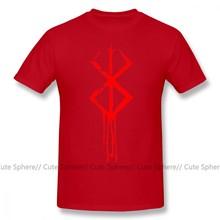 Berserk T Shirt Berserk marque de Sacrifice T-Shirt homme imprimé T-Shirt drôle à manches courtes grande taille 100 coton T-Shirt décontracté(China)