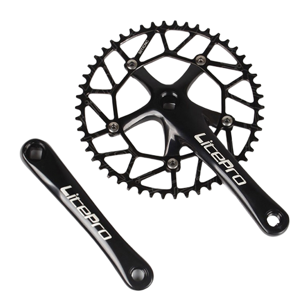 Road Bike integrated Crankset crank arm 170 BCD130 BB Chainring 45//47//53//56//58T