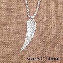 23 Styles Hiphop Necklace Cool Tree Guita Leaf Anchor Claw Cross Punk Pendant Retro Long Necklace Male Men Gift AK001-023(China)