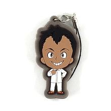 A Prometida Neverland Original Japonês anime figura de borracha encantos do telefone móvel cinta keychain D453(China)