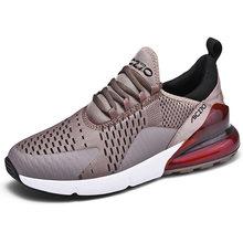 Erkekler yaz spor ayakkabı 2019 marka koşu ayakkabıları nefes Zapatillas Hombre Deportiva yüksek kaliteli erkek ayakkabı eğitmen Sneakers()