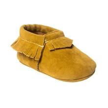 Zapatos de bebé con flecos para bebés recién nacidos, bebés, niñas, suela suave, mocasines de terciopelo Coral, zapatos de cuna, PU(China)
