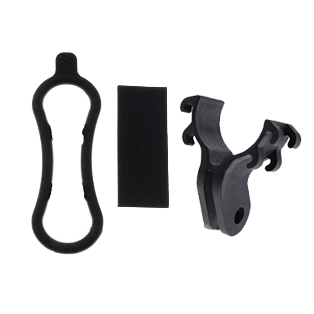 Bicycle Light Torch Flashlight Holder Clip Camera Mount Bracket for Gopro