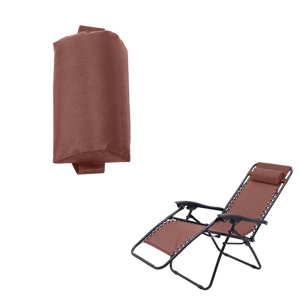 Headrest Head Cushion Pillow for Folding Beach Sling/Lounge Chairs for Backyard, Picnics, Beach