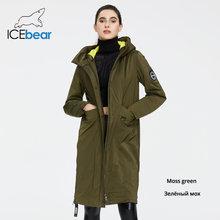 Icebear 2020 jaqueta feminina primavera qualidade casaco longo roupas femininas marca gwc20066i(China)