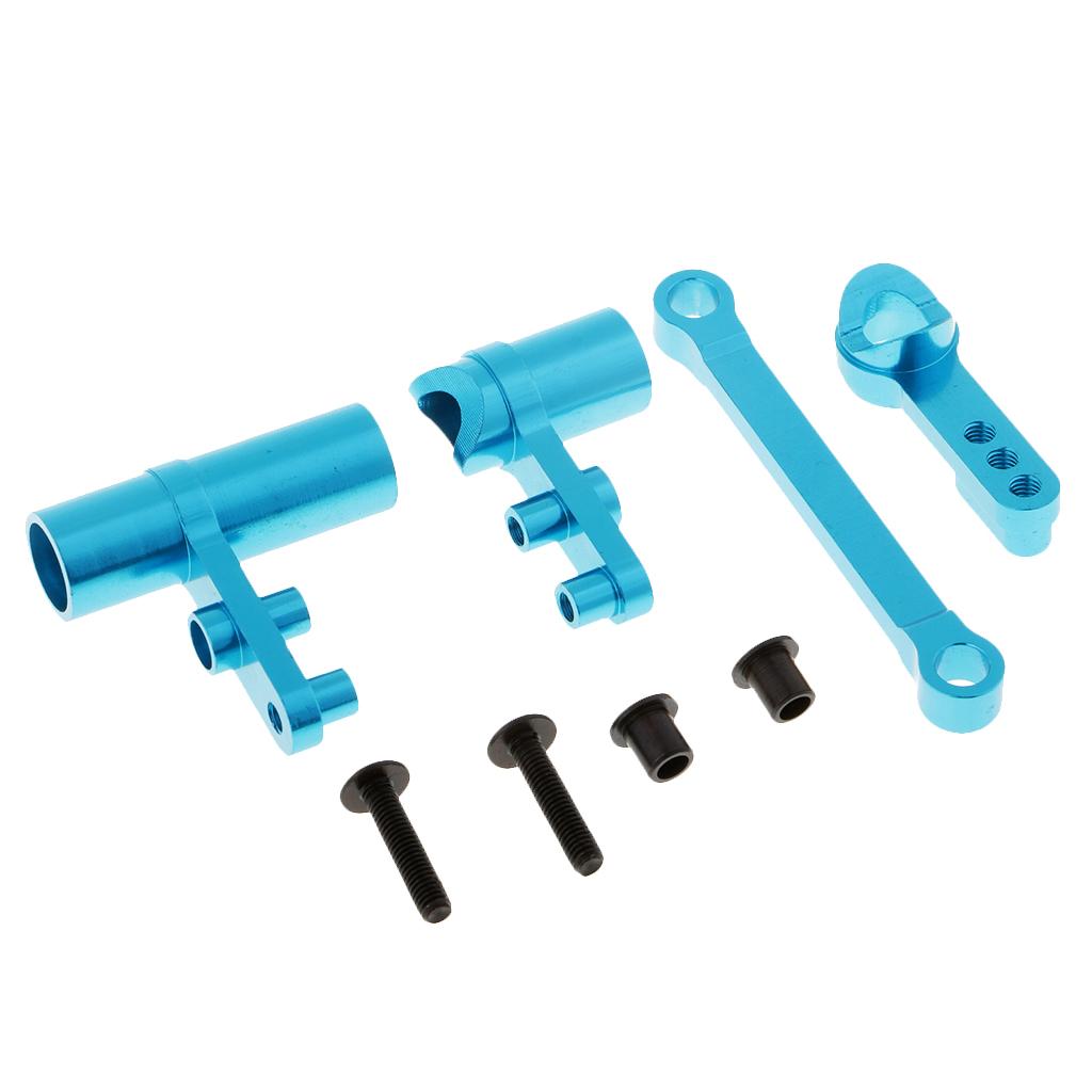 1/10 HSP RC Upgrade Parts 102057 102040 Steering Servo Saver Complete for HSP 94111 94123 94188