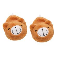 Plüsch Puppe Hausschuhe Schuhe für 18 zoll Amerikanischen Puppe 43cm Mädchen Puppe Niedlichen Tier Plüsch Hausschuhe Puppe Dccessories Spielzeug für Kinder(China)