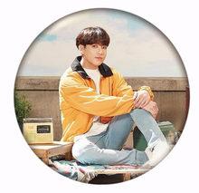 Akhir Tahun Izin Kpop Bangtan Boys Pin Album Bros Lencana Aksesoris untuk Pakaian Topi Ransel Dekorasi(China)