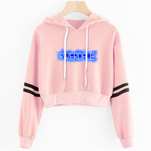 RIVERDALE Southside New Women sexy Lovely crop top hoodies Serpent Print harajuku hot sale casual hoodies sweatshirts plus size(China)