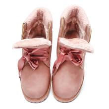 Fujin Nữ Ủng 2020 Nữ Mới Ủng Mùa Đông Nữ Mới Của Mùa Đông Giày Nữ Ấm Áp Nữ của Vải Cotton Giày(China)