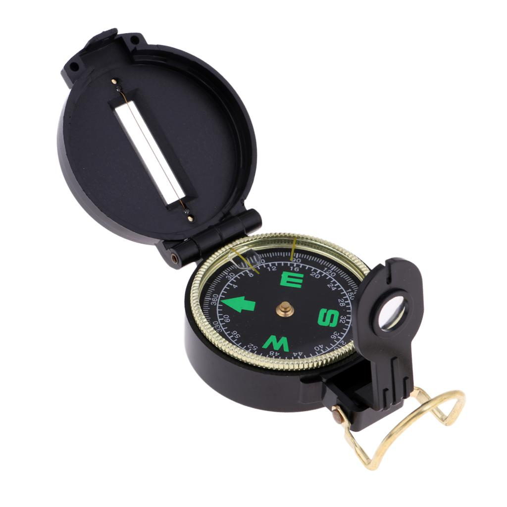 Noctilucent Hiking Camping North Compass Tool Pocket Watch Style for Outdoor