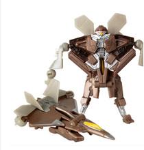 Trasformazione Kids Classic Divertente Robot Auto Giocattoli Per I Bambini action figures e Giocattoli Robot Metamorfica Giocattolo Per I Regali Dei Ragazzi Del Capretto(China)