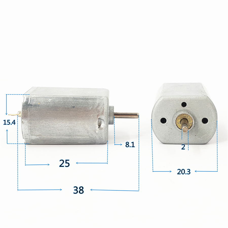 Mabuchi FK-130SH-09450 DC 6V~12V 6000RPM Mini Worm Gear Shaft DC Motor DIY Toy