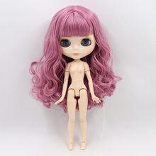 Ледяная фабрика Blyth кукла 1/6 BJD индивидуальные телесный шарнир тела с белой кожей, глянцевое лицо, подарок для девочки, игрушка(China)