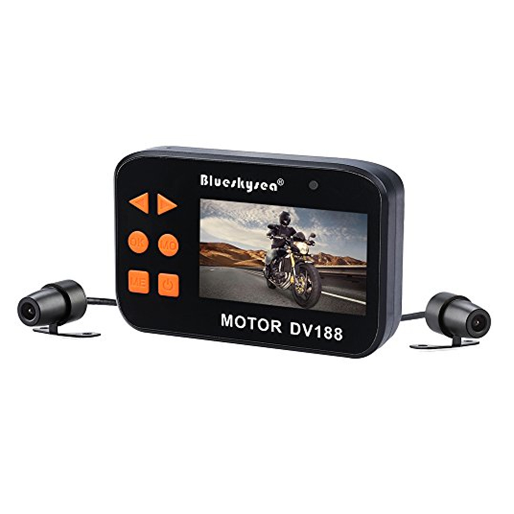 1 Set DV188 Action Camera Motorcycle FHD 1080P DVR Camcorder 2.7 Inch LCD Video Recorder 130° 2 Waterproof Camera Multi-language