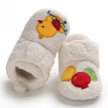 Зимние ботинки для младенцев; зимние ботинки для малышей; теплые плюшевые детские уличные ботинки; детская хлопковая обувь с мягкой подошво...(China)