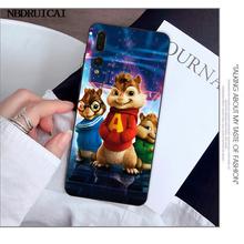 Funda de teléfono NBDRUICAI Alvin y las ardillas para Huawei Y5 Y6 Y7 Y9 Prime 2019 Enjoy 7 8 9 10 Plus(China)