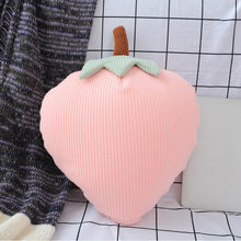 Yeaknow 43x32cm Strawberry 38x33cm Cactus 43x27cm Pineapple Stuffed Toys Soft Plant Nanoparticle Stuffed Doll for Bedding Decor(China)