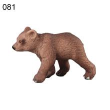 สมจริง Grizzly หมีครอบครัวสัตว์ Figurine Decor (China)