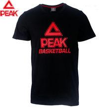 PEAK Pria Basket Jersey Stadion Basket Penting Basket T-shirt Cepat Kering Bernapas Olahraga Basket Kemeja(China)