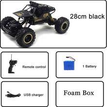 4wd 1:12 rc carro versão atualizada 2.4g controle de rádio rc carro brinquedos buggy carro de alta velocidade caminhões fora de estrada brinquedos para crianças aniversário(China)