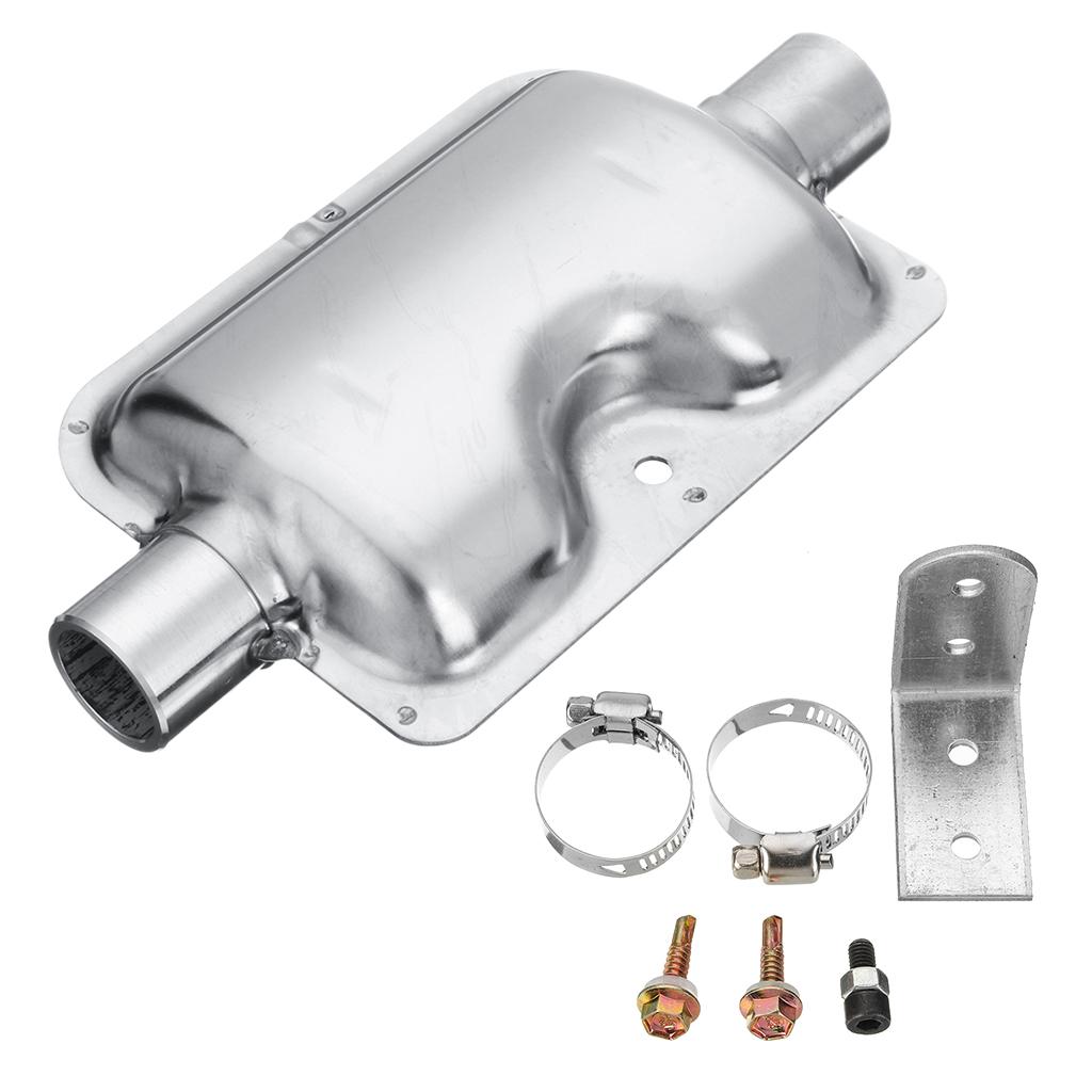Diesel Heater Muffler And Mounting Bracket For Eberspacher Air Diesel Heater