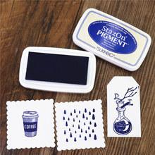 Multicolor Japón Tsukineko Stazon pigmento multifunción impresión Mesa goma sello papel mano cuenta inkpad(China)