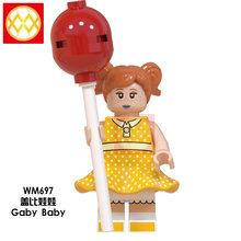 トイストーリー 4 Forky バニーエイリアン 3 ウッディジェシーバズ · ライトイヤーギャビーステッチビルディングブロックレンガフレンズ人形子供のギフ(China)