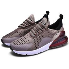 Marka tasarımcısı spor koşu ayakkabıları erkekler yastık hafif 270 hava tenis Sneakers kadın taktik çizmeler boyutu 39-46 Zapatos Mujer(China)