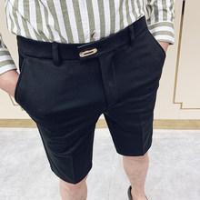 2020 летние Повседневное офисные брюки Для мужчин платье в деловом стиле; Модные, пикантные тонкие летние Для мужчин s свадебный костюм брюки ...(China)