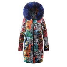 2019 nouvelle fourrure chaude à capuche longue vers le bas Parkas femmes doudoune hiver manteau coton rembourré veste femme hiver veste manteau femme(China)