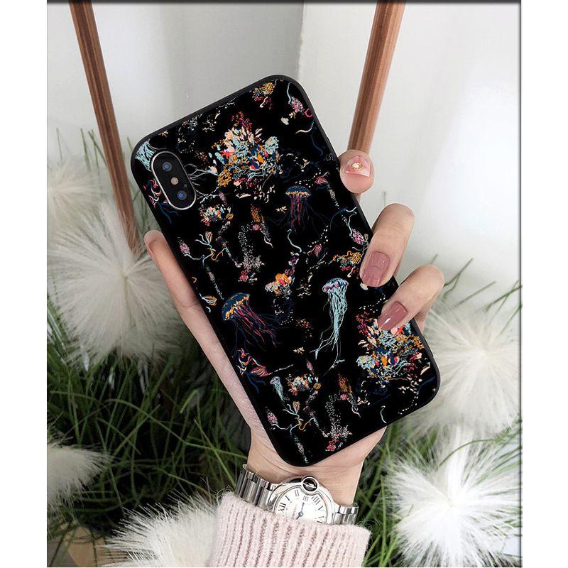 battle royale soft Silicone black phone case Raven Epic Omega