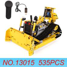 Yeshin 13014 13015 13016 pilot obciążenia samochodu zespół inżynierii klocki boże narodzenie cegły zabawki kompatybilny Legoed(China)
