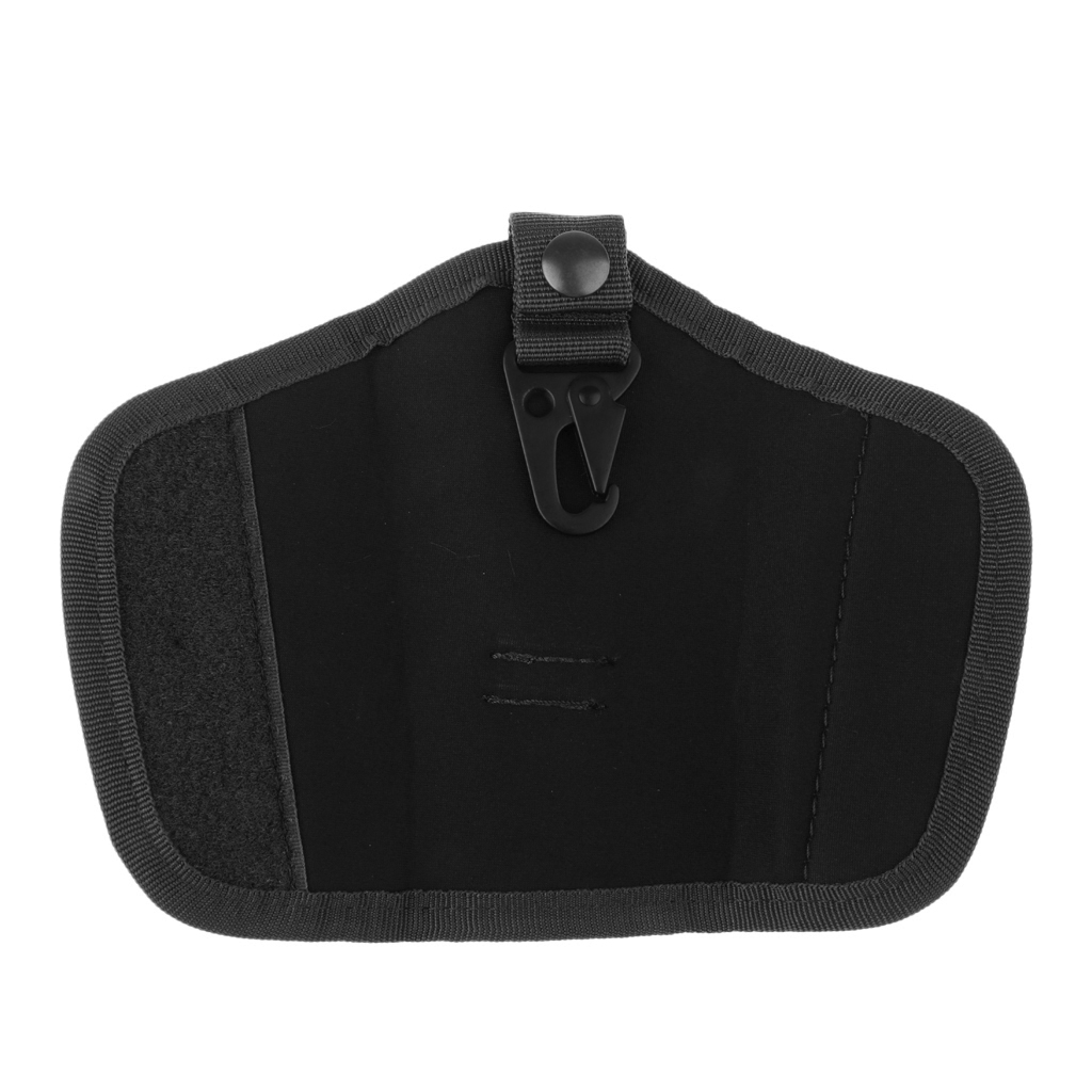 Oxford Silent Key Holder Pouch Nylon w/Flaps and Duty Belt Loop