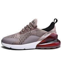 Erkek spor ayakkabı nefes hava örgü açık spor ayakkabılar bahar sonbahar çift yastık daireler eğitim koşu ayakkabıları Zapatos De Hombre()