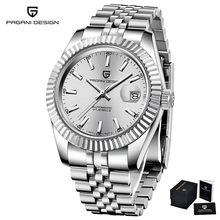 Relojes para hombre marca de diseño PAGANI de lujo impermeable para deportes de negocios mecánico automático reloj Rolexable reloj Masculino PD-1645(China)