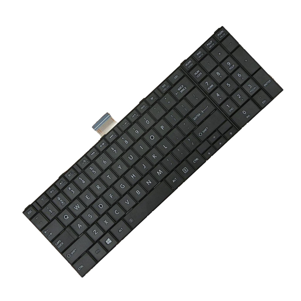 US English Layout Replacement Keyobard for Toshiba Satellite C850 C850D C855 C855D C870 C870D C875 C875D Keyboard Newest Arrival