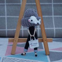 Donna di modo carino spilla badge su zaino kawaii Acrilico Spille Spille con palla di lana cappello di lana Donna Spille distintivo Broĉo(China)