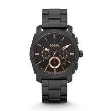 FOSSIL Machine mi-taille chronographe noir en acier inoxydable montre chronographe montre pour hommes FS4682P(China)