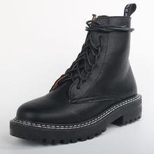 Doratasia 2020 grande formato 43 di Modo di Martin Stivali di marca di disegno Della Caviglia Stivali Donna Scarpe lacci delle scarpe Pattini freddi Stivali Da donna Stivali(China)
