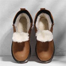 Natuurlijke Wol Winter Laarzen mannen Russische Stijl Volnerfleer Schapen Bont Handgemaakte Winter Schoenen # YM8988(China)
