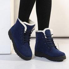 Botas Mi Nữ Giày 2019 Mới Mùa Đông Giày Nữ Giày Nữ Ấm Áp Ủng Thời Trang Nữ Mắt Cá Chân Giày Đàn Mùa Đông Giày người Phụ Nữ(China)