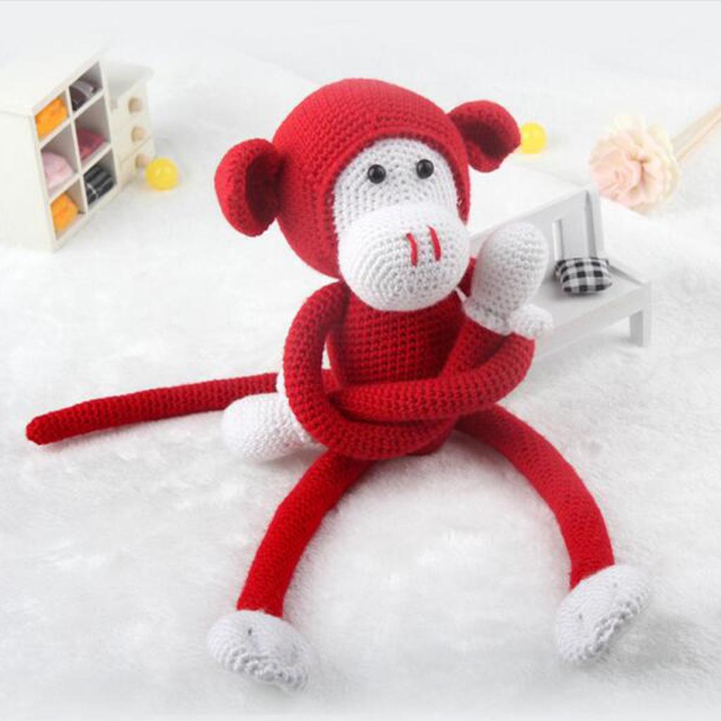 Monkey Doll Crochet Kit DIY Craft Project Handmade DIY Accessory