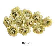 10 Buah/Banyak Buatan Bunga 5 Cm Sutra Musim Semi Mawar untuk Pesta Pernikahan Rumah Dekorasi DIY Wreath Hadiah Box Scrapbook kerajinan(China)