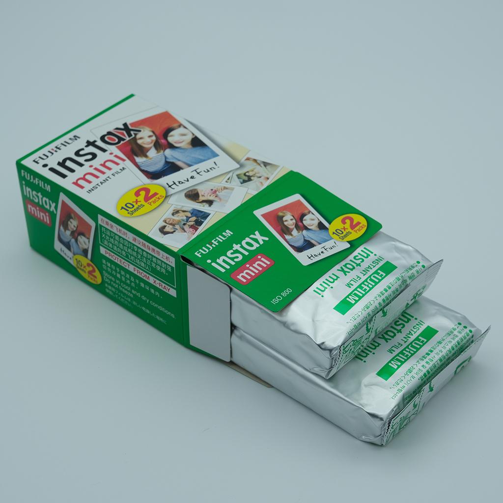 Mini Film White 20 Sheet For Fuji Instax Instant Camera Photo Film Paper for instant mini 9 8 7s 25 50s 9 90 photo Paper
