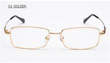 Swokence enchimento prescrição dioptre 0 a + 8.0 óculos de leitura armação de liga anti azul ray presbiopia óculos wpr17(China)