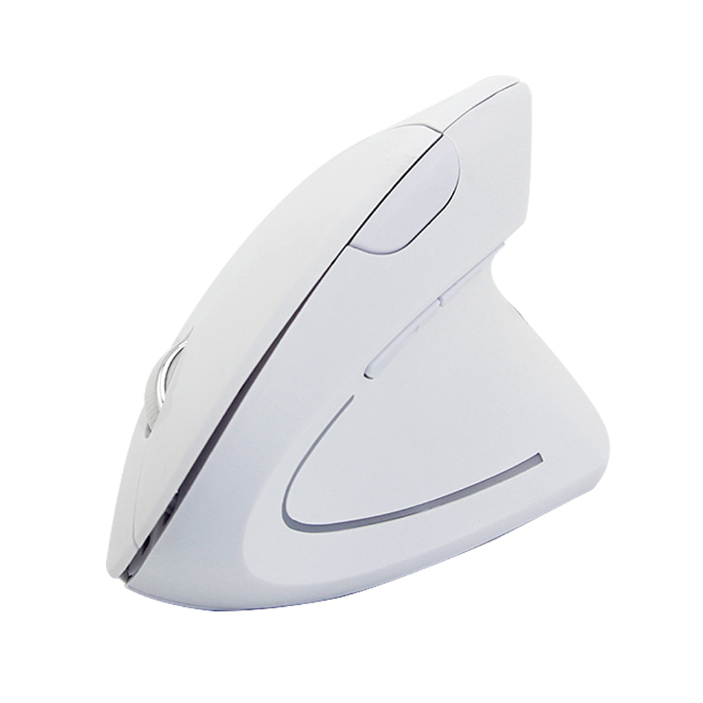 Computer Laptop PC 6D 2.4G Wireless Optical Gaming Mouse 1600DPI Ergonomics Wireless Vertical Optical Mice with Mousepad