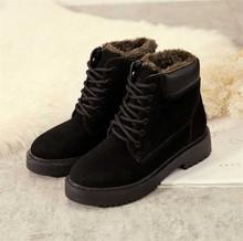 DORATASIA yeni 35-41 sıcak satış kış sıcak kürk botları bayan ayak bileği platformu ayak bileği kar botları kadın 2020 düşük topuk ayakkabı kadın(China)